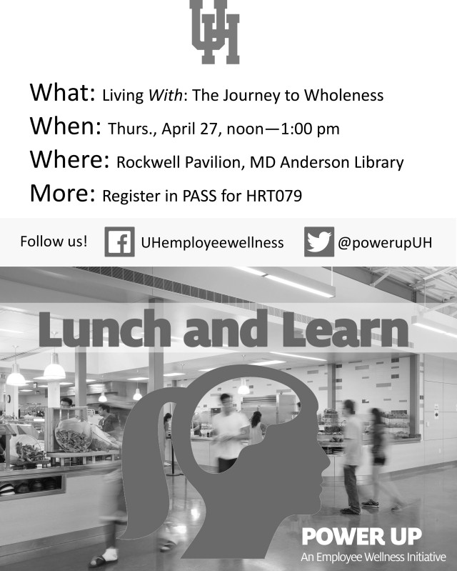 Lunch and Learn Spirituality 4.27.17