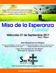 Misa de la Esperanza y Sanidad