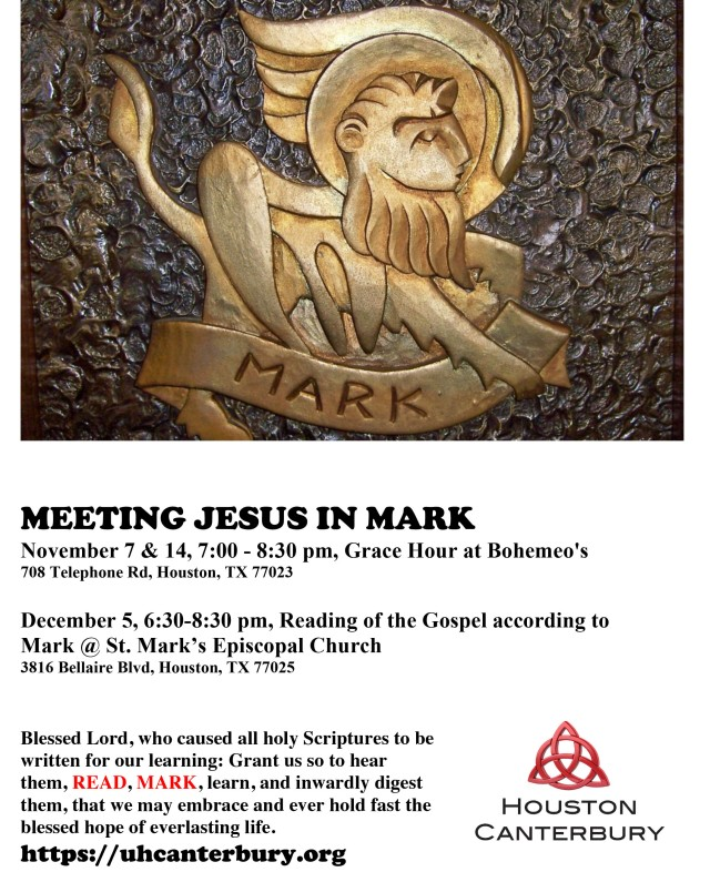 Microsoft Word - MEETING JESUS IN MARK.docx