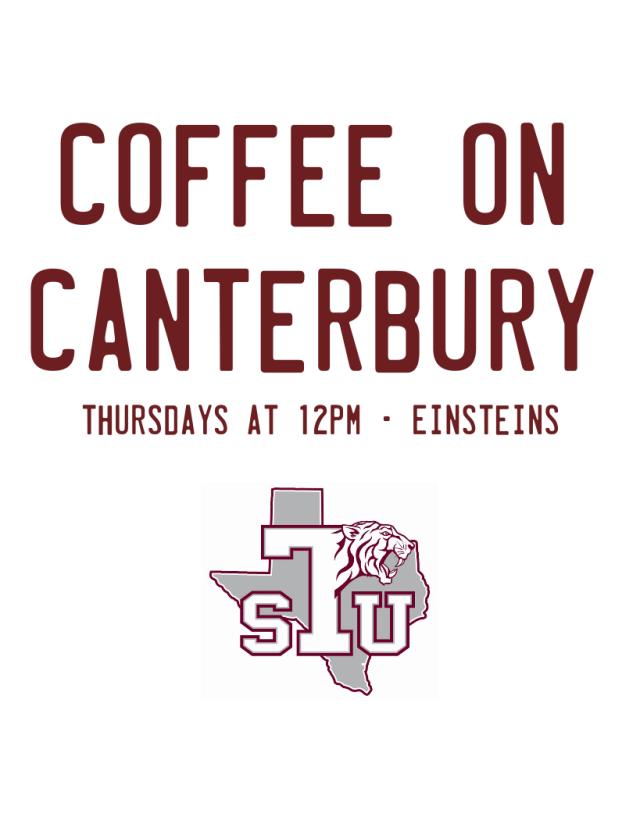 Coffee on Canterbury flyer